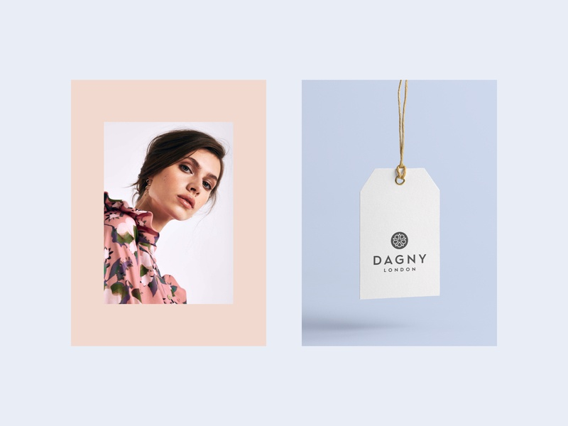 Dagny #01 logo design tag logo fashion packaging sustainable luxury minimal identity design brand identity branding