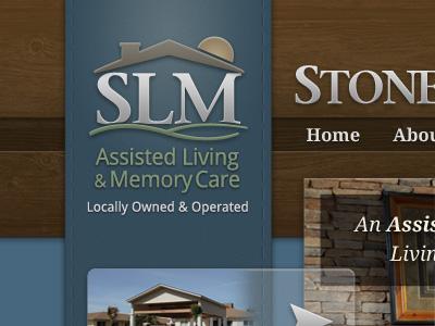 Slm logo header