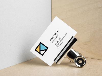 Kresh business cards fresh branding logo graphic design brand identity