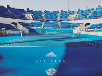 EasterBowl sports branding mockup stadium tennis adidas sports logo branding graphic design brand identity