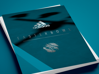 EasterBowl flyer tennis ball process sports adidas tennis logo graphic design branding brand identity