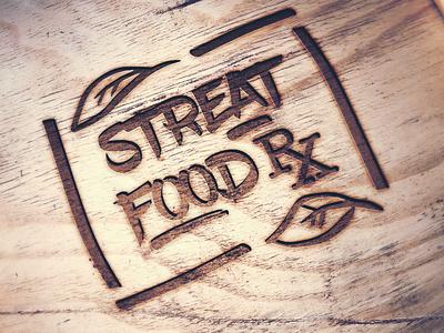 StreatFood RX food healthy mockup logo branding graphic design brand identity