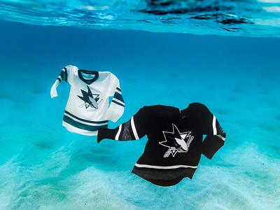 2019 NHL All-Star Uniforms apparel penguins sustainability parley sharks uniforms jerseys nhl hockey adidas sports apparel design graphic design