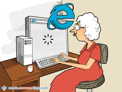 Internet Explorer Joke