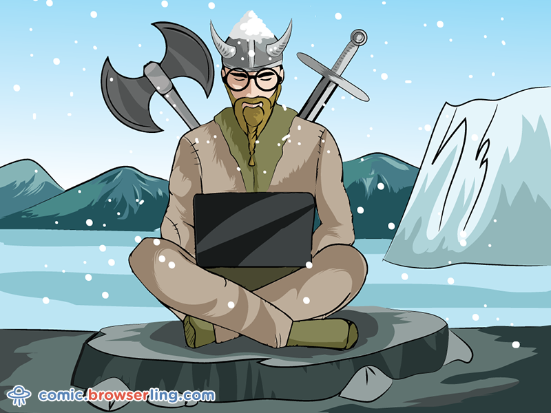 демотиватор про викингов представлял собой