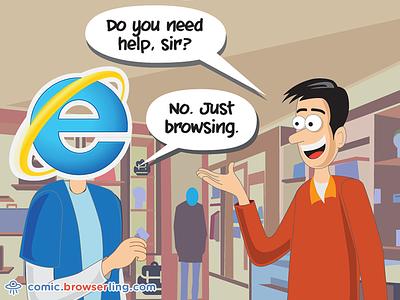 Internet Explorer Joke explorer iexplorer browsers browser browsing browse shopping shop internet explorer ie
