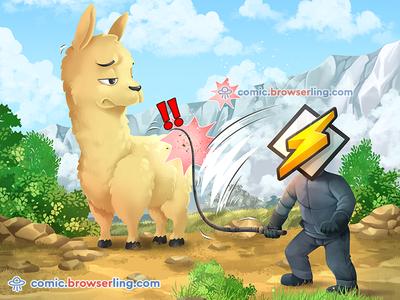 Winamp – it really whips the llama's ass!