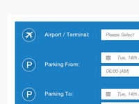 [WIP] Airport Search Fields
