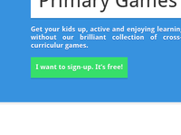 1001 Primary Games Redesign: Index Header
