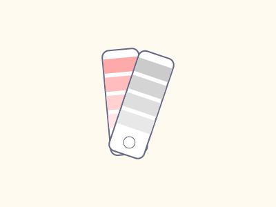 Color Fan illustration vector color