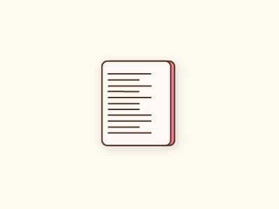 Notes vector icon notes