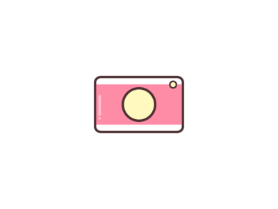 Instagram Highlight Cover #2 pink illustration vector camera