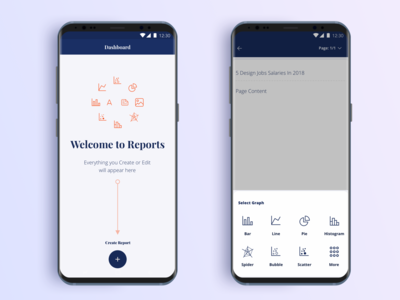 Reports | WIP | Mobile App (1/3)
