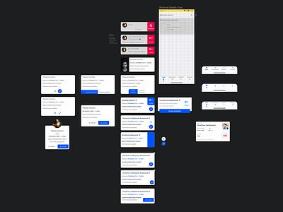 Donor App | Design Concepts blood donation concept app app design ux ui mobile ios android navigation bottom navigation material design