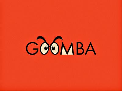 Goomba. (1/3) experimental vector illustration video games gaming nintendo super mario mario logo design flat minimal modern goomba