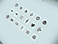 Icon set for my portfolio