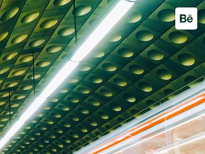 Escape Reality! urban photography diagonal subway prague architecture personal presentation behance project