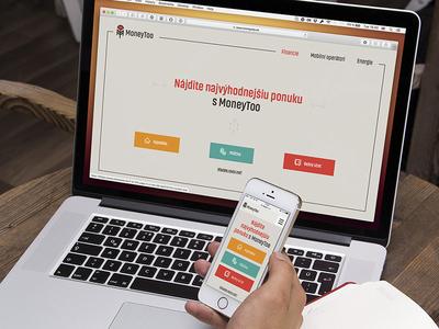 MoneyToo - logo, identity & webdesing identity fresh birght moneytoo symbol colorful logo design