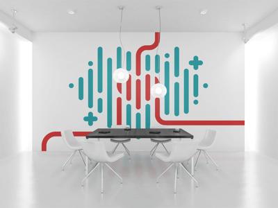 Cinre clinic logo & identity lines heart symbol cinre branding minimal clean custom type logo concept logotype clinic