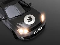B as Break - rejected logo concept