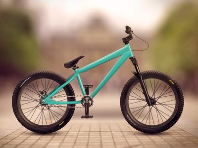 My bike Modrá dúha