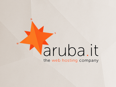 Personal restyling of Aruba Web Hosting Logo logo aruba web hosting