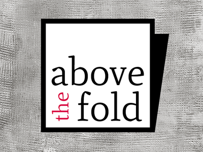 A first idea of Above the fold Logo above the fold logo back white black above fold