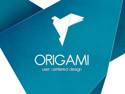 Origami logo origami logo paper paper texture user centered design design bird origami bird