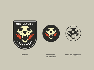 One Seven 9 - Logo design illustration logo