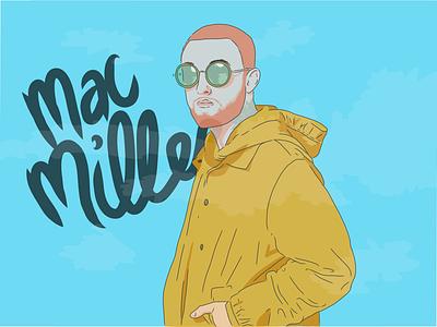 Mac Miller ipad mac miller illustration