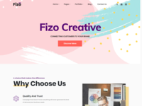 Fizo - Creative MultiPurpose HTML5 Template