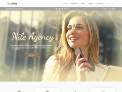 TheNile - Multipurpose HTML Template