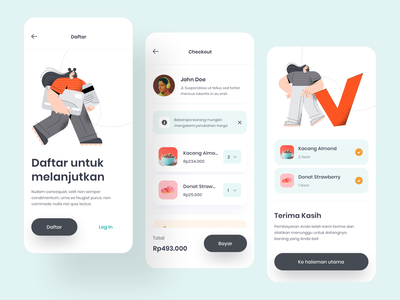 Checkout screen - Exploration mobile ui checkout checkout page shopping iphone illustration daily userinterface design mobile ui exploration