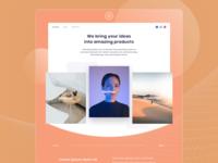 Exploration portofolio website