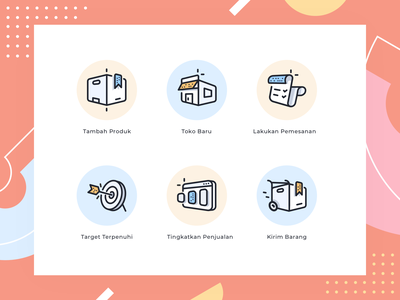 Ecommerce icons store graph stats payment outline marketplace iconset goods product shop illustrations icon ecommerce