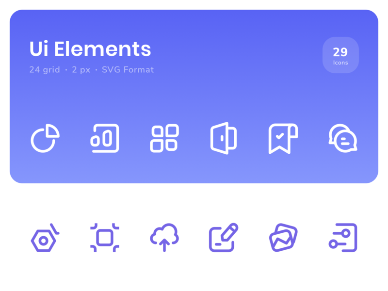 Icon - Ui Elements