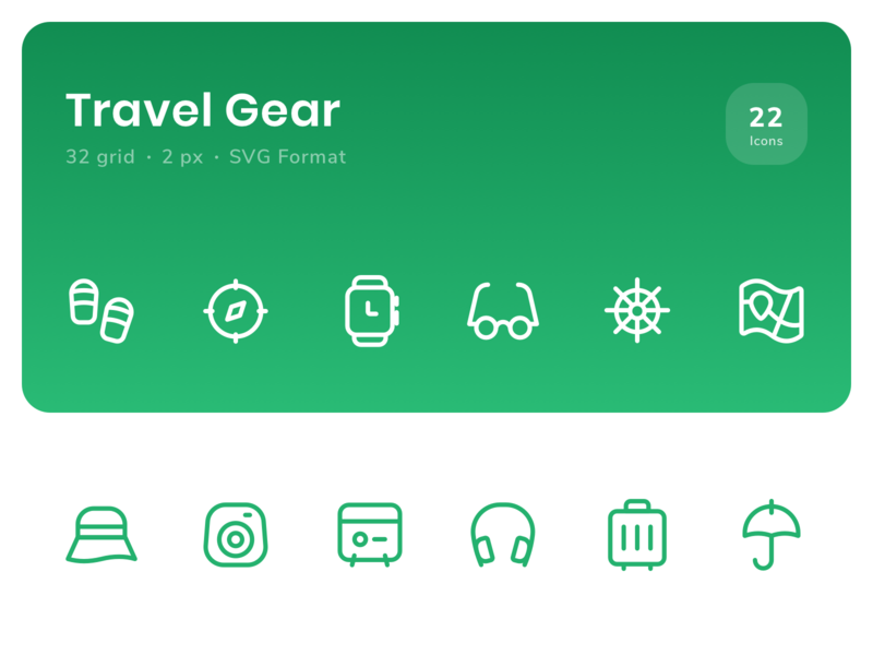 Icon - Travel Gear
