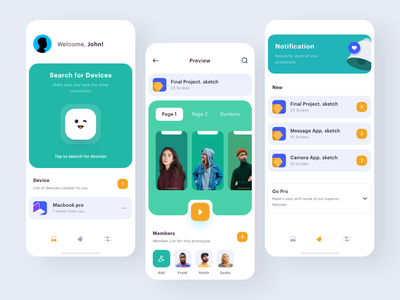 Mirror App  - Exploration mirror minimal sketch icon illustration uiux mobile ui mobile preview app exploration