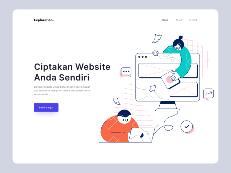 Buat Website - Exploration