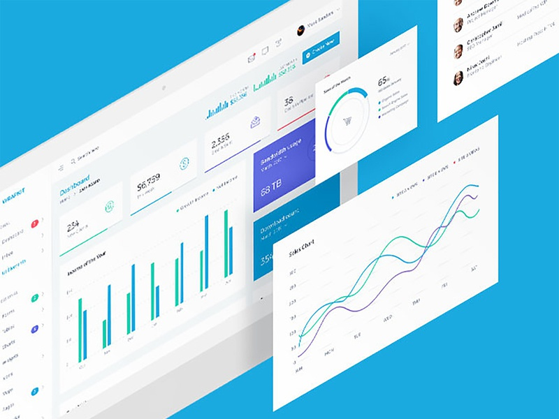 AdminWrap Dashboard is What Your Business Needs minimal modern logo design vuejs react angular dashboard admin template admin bootstrap