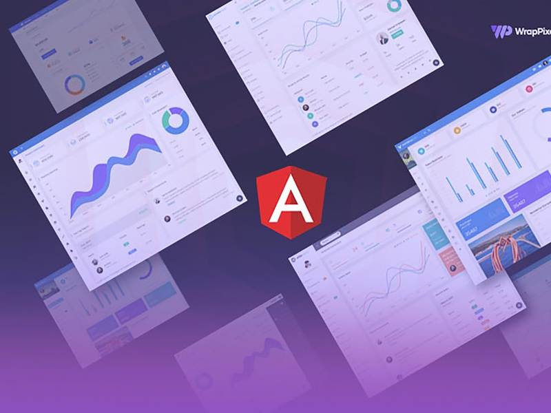 Angular Essentials: Top 14 Minimalist and Trendy Angular Admin T minimal modern logo design vuejs react bootstrap angular dashboard admin template admin