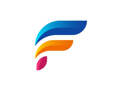 Colorful F Icon