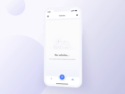 Adding a Vehicle – Insurance Search App auction engine motorbike motorbikes driving vehicle vehicles ui uxui ux interaction process uploading adding garage insurance insurance app car cars blue