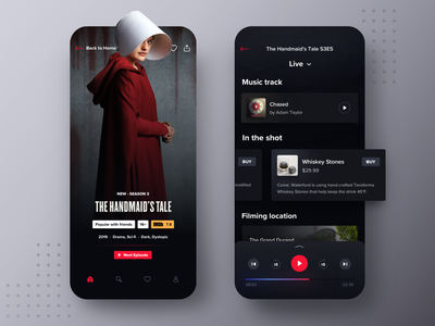 HBO Max Mobile Companion App netflix player pause remote control remote play playback live info cards trivia the handmaids tale dark streaming app service streaming movie streaming companion app hbo max hbo