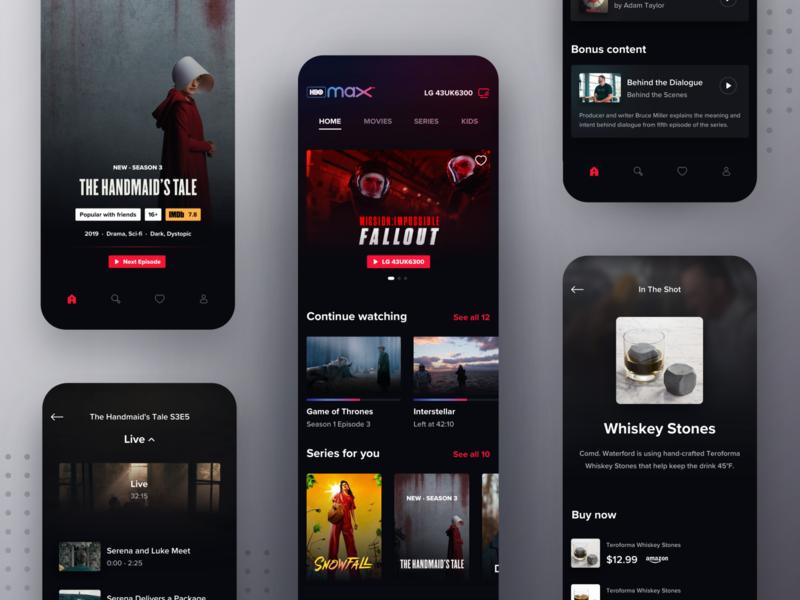 HBO Max Mobile Companion App