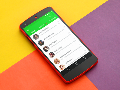 Chat For Nexus 5 chat interface