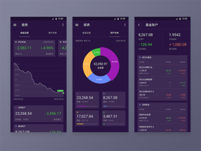 Statics Page Of Finance App 3