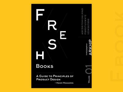 Fresh Books Cover Design chennai branding minimal typogaphy ebook cover ebook