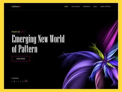 Patterns Landing Page - In progress