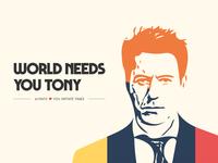 Tony World needs you